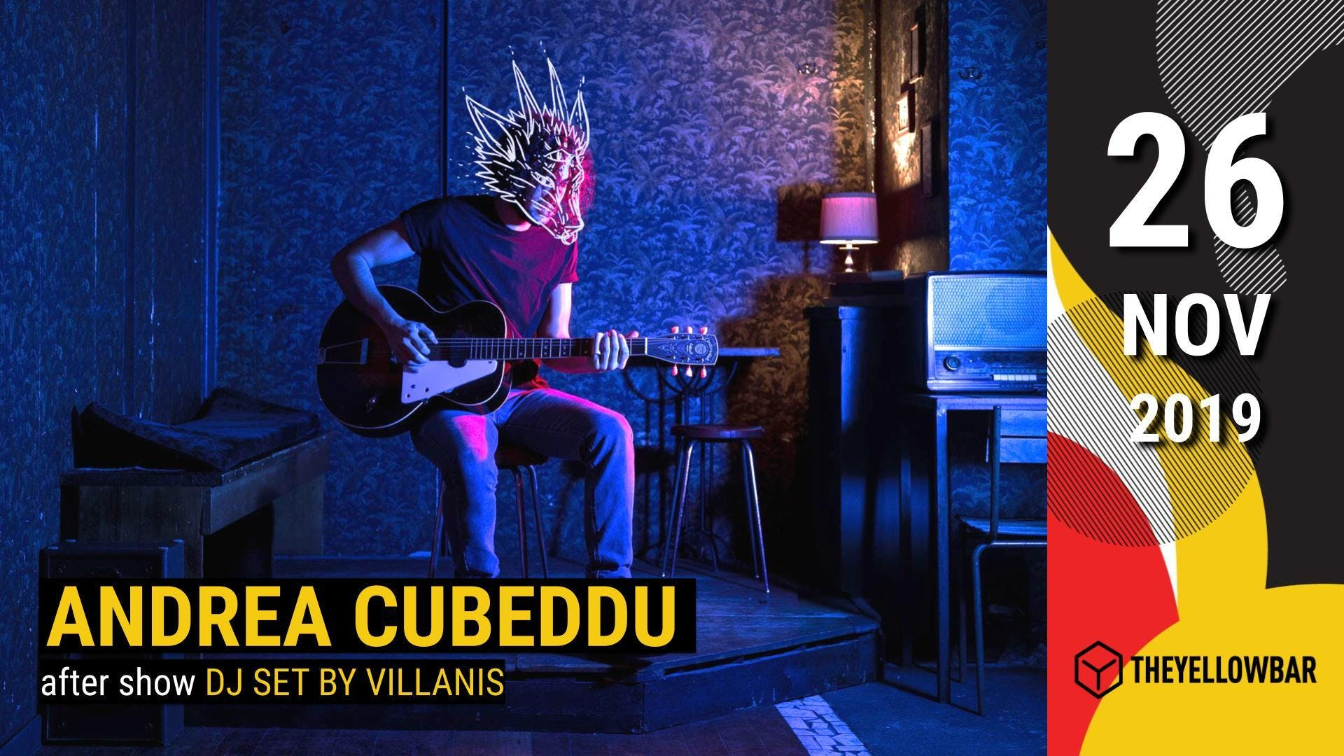 Andrea Cubeddu - The Yellow Bar
