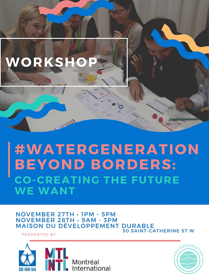 #WaterGeneration Beyond Borders: Co-creating the future we want! image