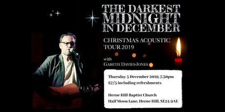 Gareth Davies-Jones: Christmas Acoustic Tour 2019 tickets