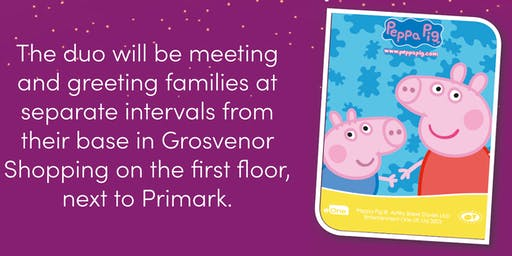 Peppa Pig and George come to Northampton.