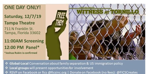 Witness at Tornillo Documentary - Tampa's Community Conversation