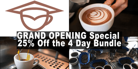 Coffee Business and Barista Training Bundle (4days) - Calgary tickets