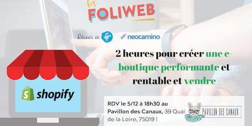[Paris] 2 heures pour créer une e-boutique performante et vendre