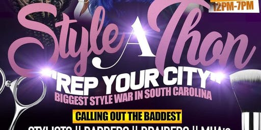 "StyleAThon: ""Rep Your City"" Hairstylist, Barber & MUA Warz"