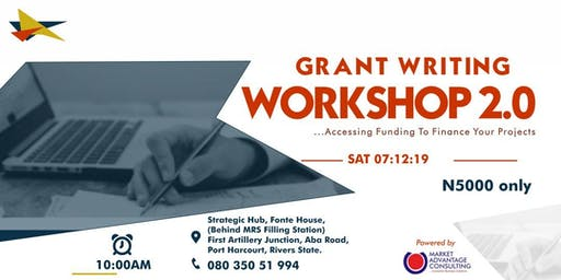 GRANT-WRITING WORKSHOP 2.0 - PORT HARCOURT