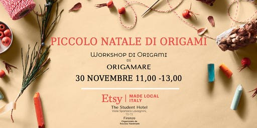Piccolo Natale di Origami  - Workshop di Origamare