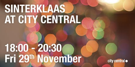 Sinterklaas at City Central tickets