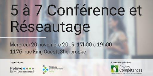 5 à 7 Conférence & Réseautage avec PureSphera