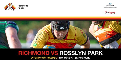 Richmond Rugby v Rosslyn Park