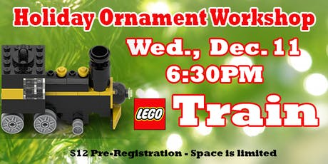 LEGO® Train Ornament Workshop tickets