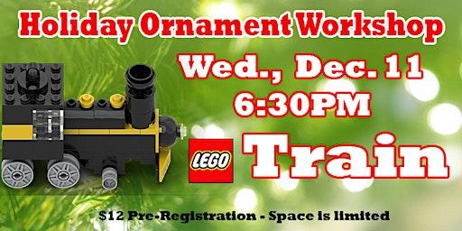 LEGO® Train Ornament Workshop