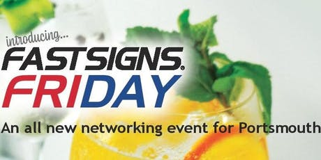 Fastsigns Friday - Networking and Gin Tasting tickets