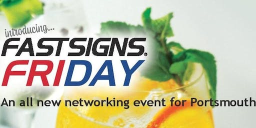 Fastsigns Friday - Networking and Gin Tasting