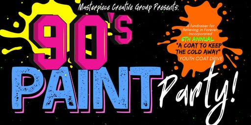 The 90's Paint Party