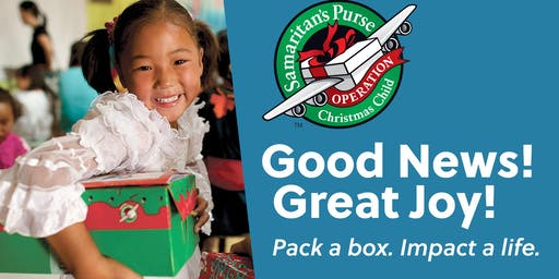Packing Party - Operation Christmas Child Club NCSU