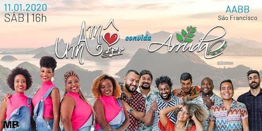 """""""Um Amô"""" convida """"Grupo Arruda"""""""