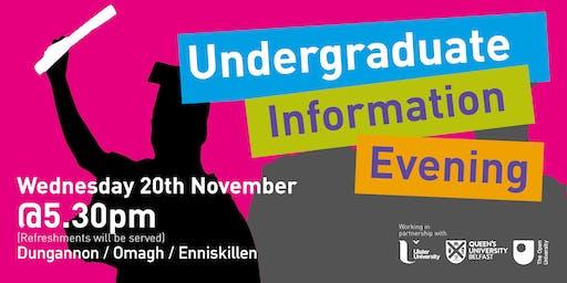 Undergraduate Information Evening - Dungannon