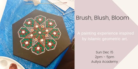 Brush, Blush + Bloom tickets