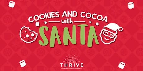 Texas Cookies & Cocoa with Santa tickets