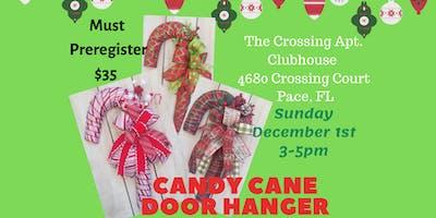Candy Cane Door Hanger Class