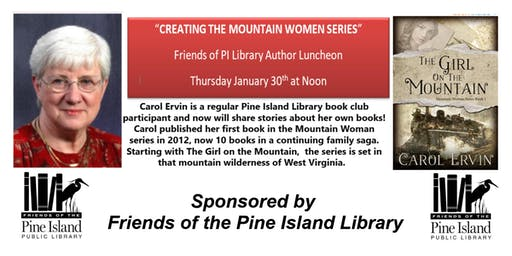 Creating The Mountain Women Series with Carol Ervin