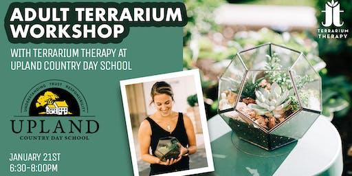 Adult Pentagon Terrarium Workshop at Upland Country Day School