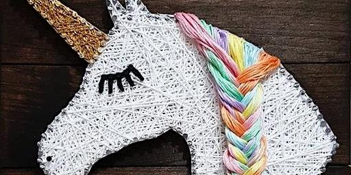 String Art-Cat or Unicorn