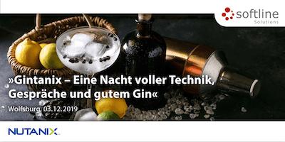 Gintanix – »Eine Nacht voller Technik, Gespräche und gutem Gin.«
