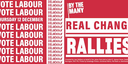 Real Change Rally: Morecambe and Lunesdale
