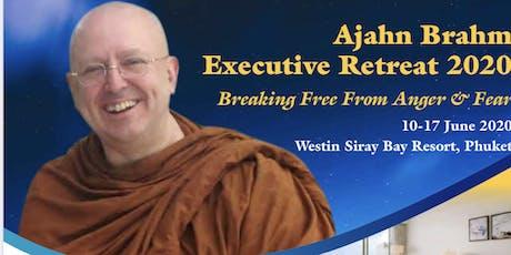 Ajahn Brahm Executive Retreat 2020 in Phuket tickets