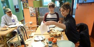 Tortilla y pà amb tomàquet