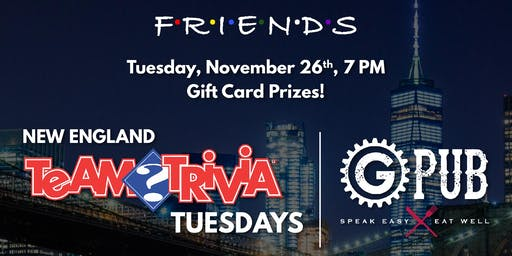 Trivia Tuesday: Friends Edition