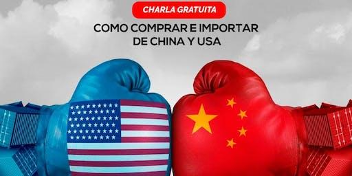 COMO COMPRAR E IMPORTAR DE CHINA Y EEUU