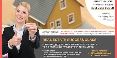Real Estate Success Class tickets