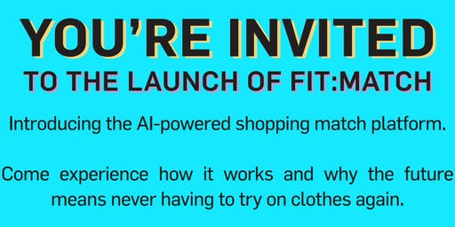 Fit:Match Launch Event at Baybrook Mall