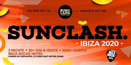 SunClash Ibiza Weekender 2020 tickets