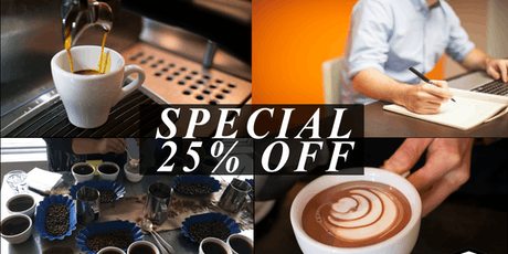 Coffee Business and Barista Training Bundle (4days) - Vancouver tickets