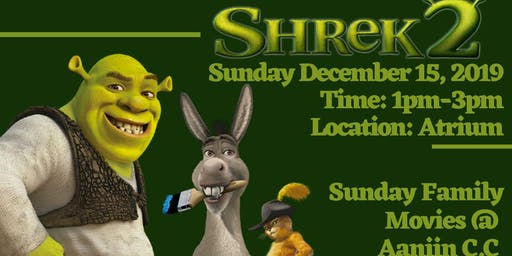 Sunday Family Movie- Shrek 2
