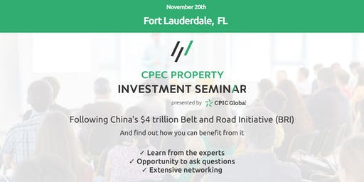 Fort Lauderdale: CPEC PROPERTY INVESTMENT SEMINAR - 20th Nov 2019