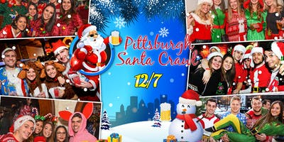 Pittsburgh Santa Crawl 2019 (10+ Bars)