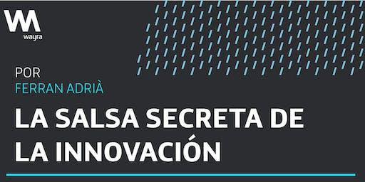 La salsa secreta de la innovación