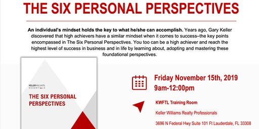 KWU The Six Personal Perspectives with Jay Cermak