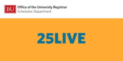 25Live Training for Academic Schedulers