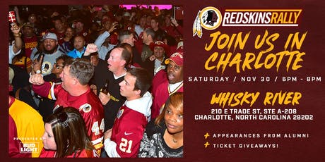 Redskins Rally with the Washington Redskins tickets
