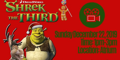 Sunday Family Movie- Shrek the Third  tickets