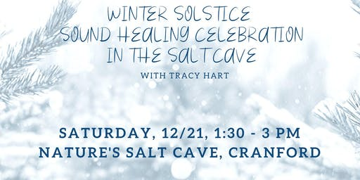 Winter solstice sound healing celebration with Tracy Hart