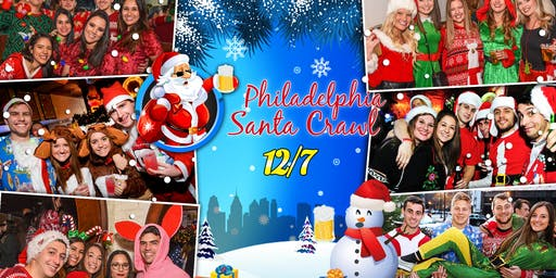 Philadelphia Santa Crawl 2019 (10+ Bars)