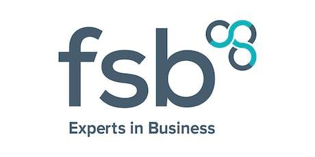 FSB Business Masterclass: Marketing & Social Media Training tickets
