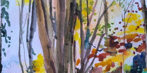 Autumn Landscapes Watercolour Class with Charlotte Anker