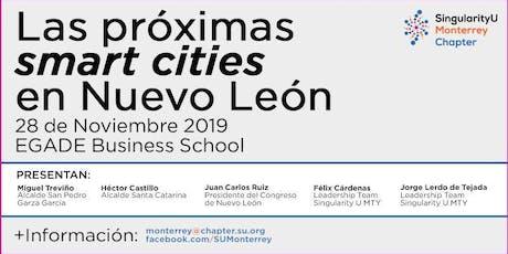 Las próximas smart cities en Nuevo León boletos